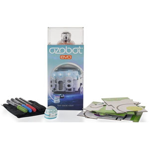 Ozobot toy with accessories